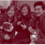 Happy Hands winning team: Ying, Michelle & Eujin