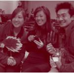 Happy Hands winning team: Ying, Michelle & Eujin